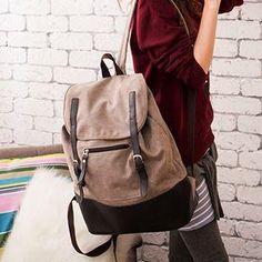 Two-Tone Backpack from #YesStyle <3 B.B. HOUSE YesStyle.com
