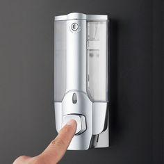 350Ml Wall Mount Soap Sanitizer Bathroom Shower Shampoo Dispenser Home Hot