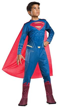 1c3cc15592ae Rubies Costume Batman vs Superman Dawn of Justice Superman Value Costume  Large  gt  gt