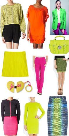#Neon  fashion_accessories_jewellery_spring_summer_2012