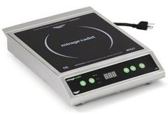 Vollrath 59300 Mirage Electric Countertop Cadet Induction Range, 12-Inch