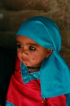 Raikhad toddler, India.