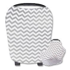R200.00 Baby Carrier Cover, Car Chair, Shopping Cart Cover, Grey Chevron, Car Seats, Tacos, Fabric, Gray Chevron, Tejido