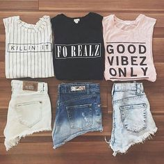 outfit, fashion, and clothes image Summer Outfits For Teens, Teenage Outfits, Teen Fashion Outfits, Grunge Outfits, School Outfits, Girl Outfits, 90s Fashion, Cute Casual Outfits, Aesthetic Clothes
