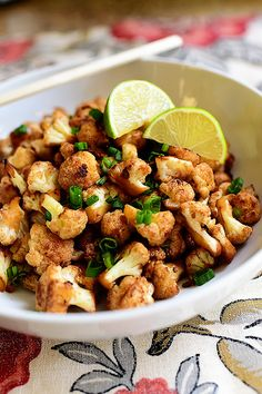 Spicy Cauliflower Stir Fry! Unbelievably delicious, and so light and lovely.