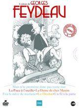 6 pièces de Georges Feydeau interprétées par la Comédie-Française : Un fil à la patte / La puce à l'oreille / Mais n'te promène donc pas toute nue / Feu la mère de madame / Le dindon / La dame de chez Maxim. Cote : DVD THE FEY