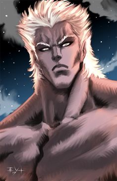 Fan art of Hokuto no Ken/ Fist of the North Star for the series' 30th anniversary. This was done for the Hokuto Destiny site www.hokutodestiny.com The characters are (from top to bottom): - Kenshir...
