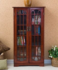 Another great find on #zulily! Cherry Window Pane Media Cabinet by Southern Enterprises #zulilyfinds