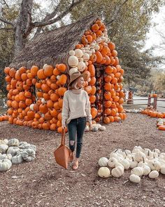 Estate & Gardens Celebrates the Harvest Season in style -- Equipped with Pumpkin Houses! Pumpkin House, Harvest Season, Girl Falling, Wonderful Places, Pretty In Pink, Travel Photography, Seasons, Celebrities, Holiday