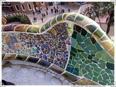 Parque Guell  Barcelona, Spain,going in November ...:)