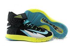 ceb1bba1e8a Nike Zoom Hyperrev KYRIE IRVING Black Venom Green Metallic Silver Turbo  Green Discount