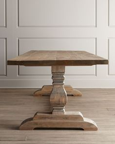Niemen Marcus natural dining table NMF15_H67AX