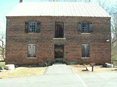 front view, kerr mill, north carolina