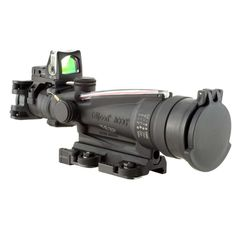 ACOG Trijicon Dual Illuminated Red Horseshoe Rifle Scope with 9.0 MOA RMR Sight and