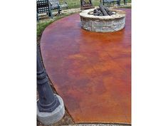 Acid stained concrete. Something like this for the mud room/front patio.
