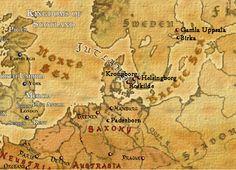The lands of Viking Legend