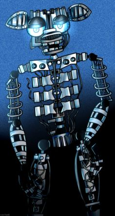 Five Nights At Freddy's 2 The Endoskeleton