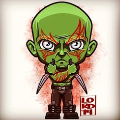 Guardians of the Galaxy: Drax