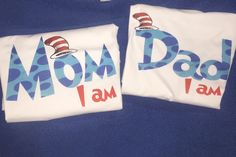Dr. Seuss birthday shirt, Dr.Seuss matching Parent shirts.   A personal favorite from my Etsy shop https://www.etsy.com/listing/228810602/dr-seuss-parent-of-the-birthday-child