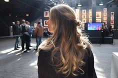 """hair by @johannasalon between the shows  thank you @tresemme #nyfw @hype_011 #casahypenyfw"""
