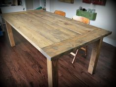 Ana White | Red Hen Home Farmhouse Table - DIY Projects