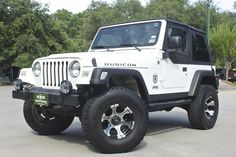 2005 Rubicon - Only 43k Miles! Half Doors! Lots of Upgrades! http://www.selectjeeps.com/inventory/view/7789486?2005+Jeep+Wrangler+2dr+Rubicon+League+City+TX