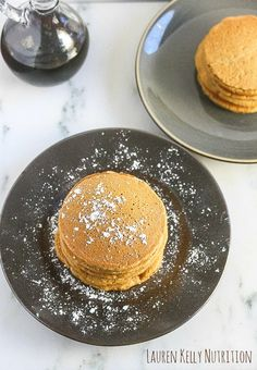 Gingerbread Pancakes Gingerbread Pancakes, Food Now, Dairy Free Recipes, Christmas Baking, Free Food, Yummy Food, Vegan, Breakfast, Blog
