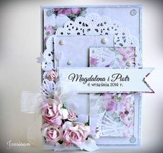 Fan lutowy - Fan of February Max 2015, Just Love Me, Beautiful Handmade Cards, Mini Albums, Wedding Cards, February, Card Making, Shabby, Scrapbooking