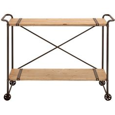 I pinned this Dinard Console Cart from the Homespun Details event at Joss and Main!