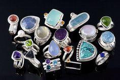 gorgeous rings by Jen Lawler via Flickr.