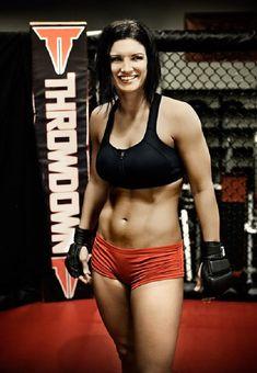 Gina Carano ~ Kickboxer ~MMA