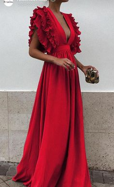Elegant maxi dress - Unique V Neck Backless Chiffon Evening Prom Dresses, Cheap Custom Sweet 16 Dresses, 18497 – Elegant maxi dress Sweet 16 Dresses, Pretty Dresses, Beautiful Dresses, Cheap Bridesmaid Dresses, Cheap Dresses, Formal Dresses, Dresses Dresses, Long Dresses, Short Elegant Dresses