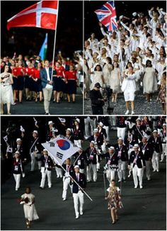 Countries with the Best Costume at the 2012 Olympics Opening Ceremony_ecasirip 01    http://ecasirip.com/countries-with-the-best-costume-at-the-2012-olympics-opening-ceremony