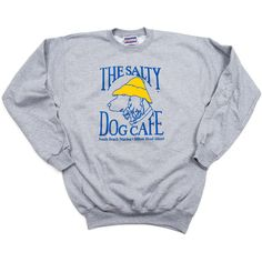 Sweatshirt-Adult Crew : The Salty Dog T-Shirt Factory ❤ liked on Polyvore featuring sweaters and sweatshirts
