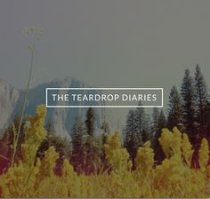 Awesome blog of a young couple building and camping in their teardrop.