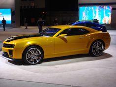 black & yellow camaro a/k/a bumblebee