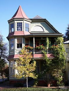 1000 images about turret on pinterest victorian queen for Victorian home plans with turret