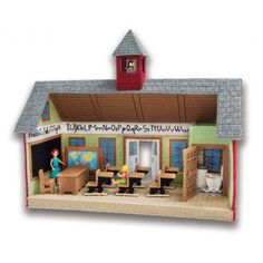 Mary Maxim - School House Plastic Canvas Kit - Plastic Canvas Kits - Plastic Canvas - Crafts