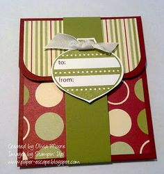 Do it yourself gift card holder too cute crafty stuff paper escape olivia moore stampinup demonstrator australia jolly gift card solutioingenieria Gallery