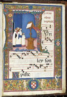 Antiphonary - Medieval & Renaissance Manuscripts Online - The Morgan Library & Museum