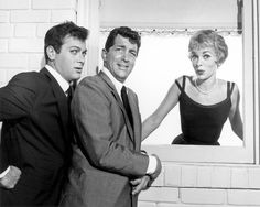 "Tony Curtis, Janet Leigh, Dean Martin for ""Who Was That Lady?"""