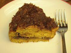 Easy pumpkin coffee cake