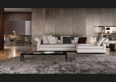 Collar sofa by Minotti - 2014 Collection