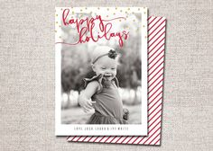 Christmas card Photo Christmas card Holiday Card by CardsEtcetera