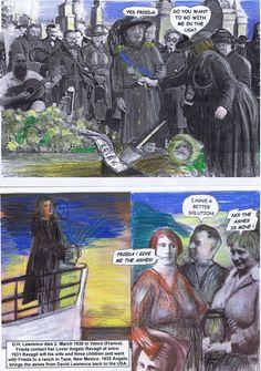 Ende eines aufreibenden Lebens. D.H. Lawrence stirbt 1930 in Südfrankreich. Buchstäblich am Grabe macht Frieda ihrem Lover Angelo das Angebot mit ihr NACH AMERIKA AUSZUWANDERN.