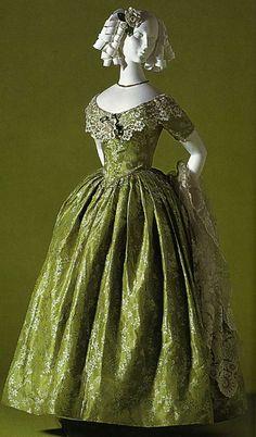 Вечернее платье. Около 1845 г.