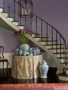 South Shore Decorating Blog: A GREAT Idea for a Budge Dining Table that Doesn't Look It
