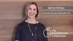 "Get to Know Pauletta Brooks Wearable Art and creator Pauletta Brooks! NY Handmade Collective - YouTube Channel. NY Handmade Collective team  member and creator Pauletta Brooks talks about the dramatic, statement jewelry that she calls 'wearable art."" Using minerals and non-traditional materials and methods, Pauletta creates statement-making pieces that will blow your mind! #YouTube #NYHandmadeCollective"