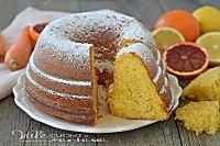 CIAMBELLA ACE SOFFICISSIMA con arancia carota e limone
