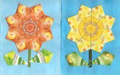 Kreatív Szakkör: Virágok teatasakból 003